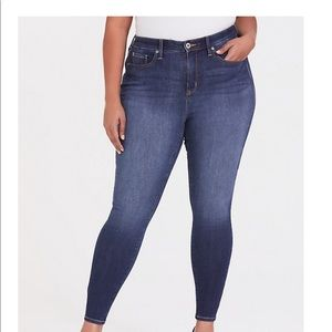 Torrid plus size high rise stretch skinny jeans
